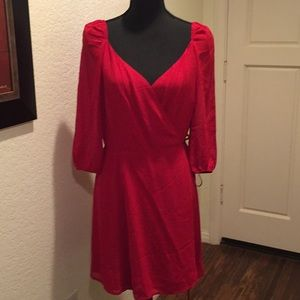 NWT- Reformation Red Dress